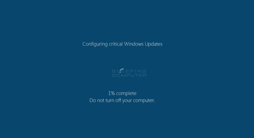 Windows Update falso